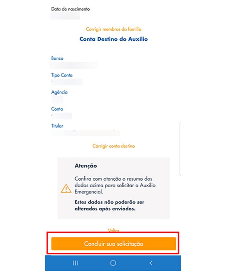 Auxilio Emergencial app 9