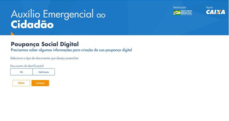 Auxilio Emergencial site 9