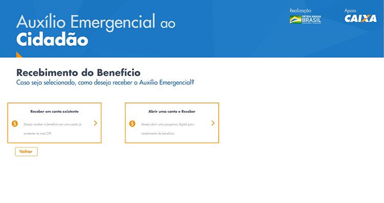 Auxilio Emergencial site 8