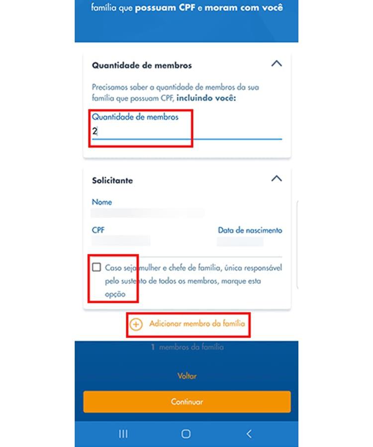 Auxilio Emergencial app 7