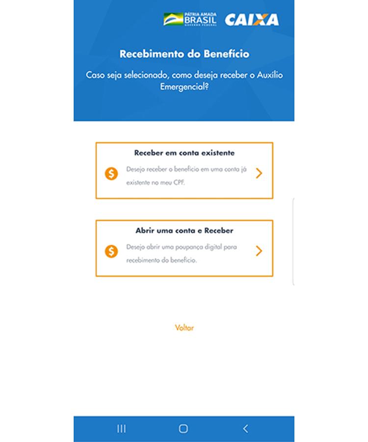 Auxilio Emergencial app 8