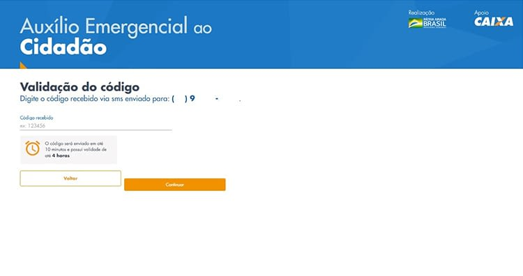 Auxilio Emergencial site 5