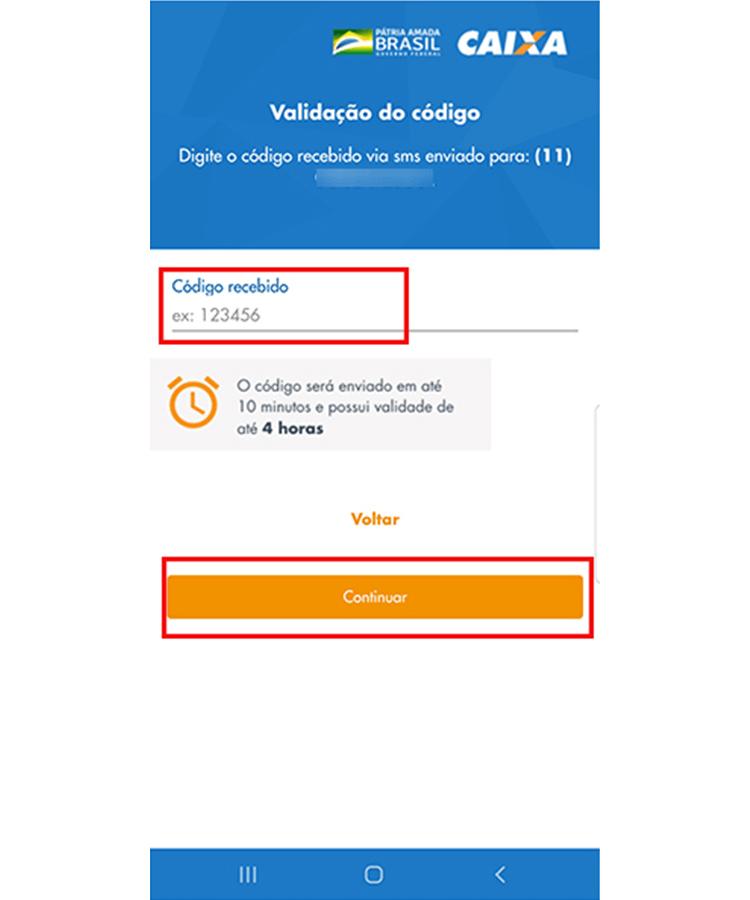 Auxilio Emergencial app 5