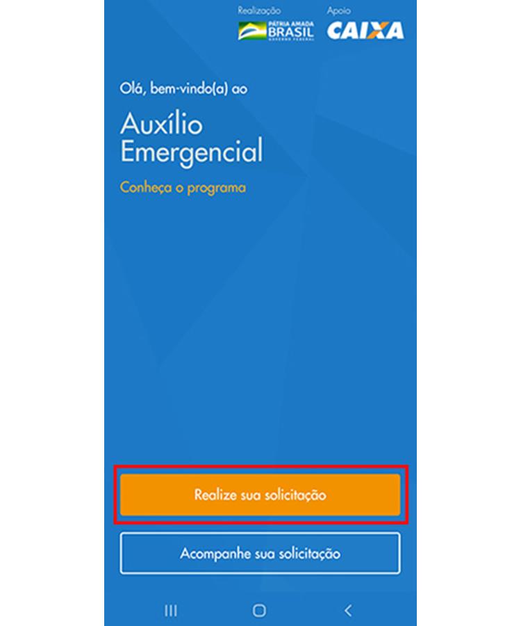 Auxilio Emergencial app 1