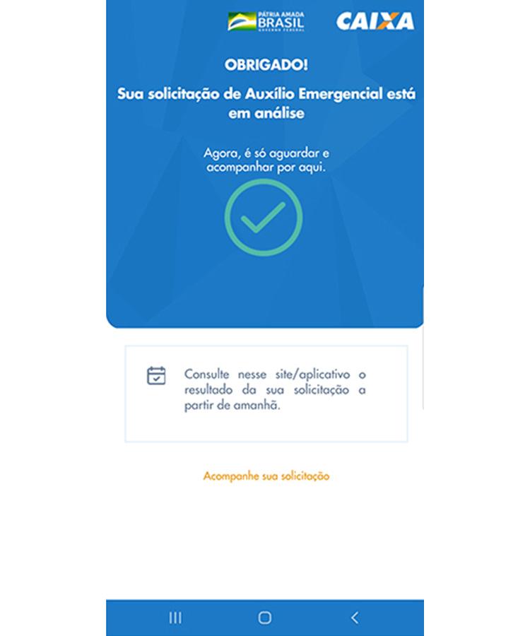 Auxilio Emergencial app 10
